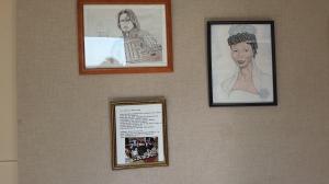 My art work on display at BGH 9-21-14 005