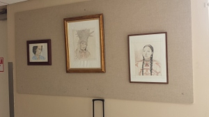 My art work on display at BGH 9-21-14 006