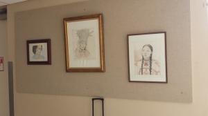 My art work on display at BGH 9-21-14 006