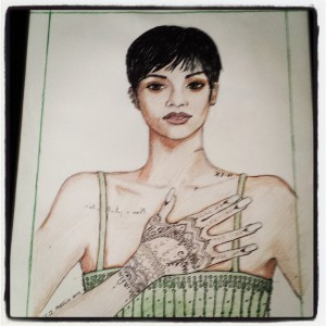 my drawings 2014 of rihanna 003
