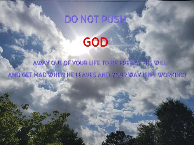 Gods way 11-18-2018