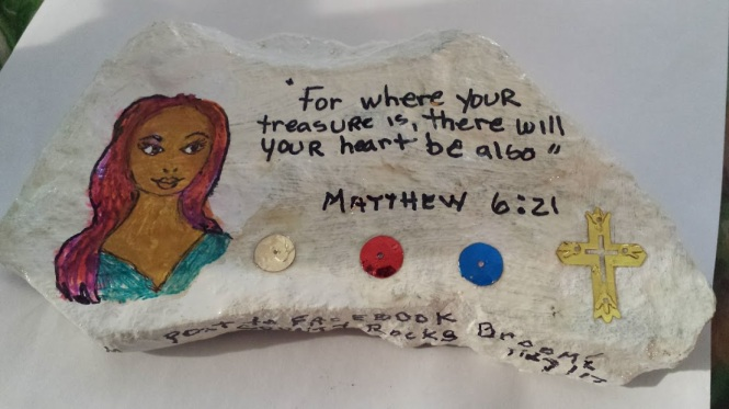 Matthew chapter 6 verse 21 July 30th 2017
