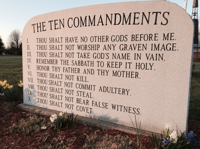 The ten commandments 2017 2