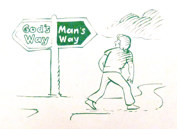 Gods way or mans way 2018