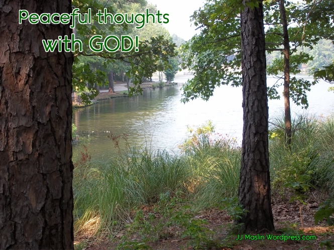 peaceful thought with GOD 2018