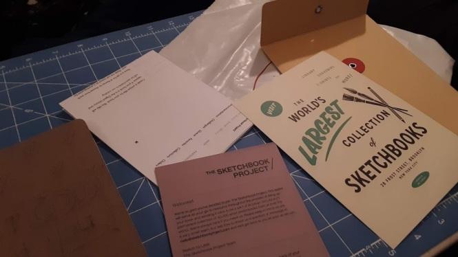 Brooklyn art library sketchbook project 2018