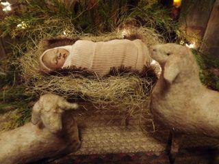 black baby Jesus in manger 2018