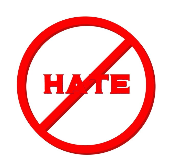 No to hate 2018