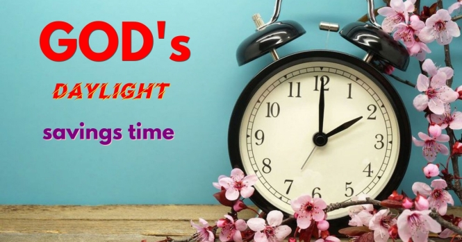 GODS daylight savings time 3-10-19